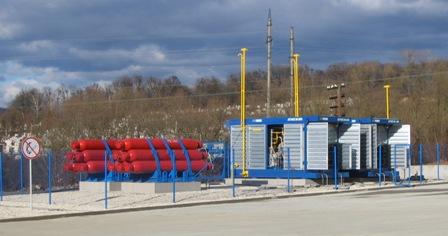модельный ряд АГНКС с газовым двигателем